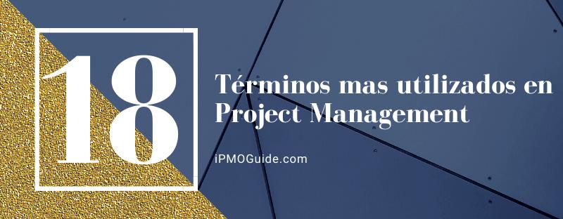 Los 18 términos mas utilizados en Project Management