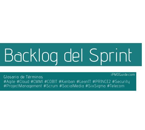 Backlog del Sprint