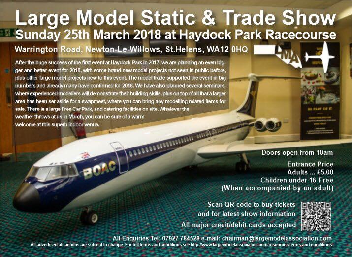 Large Model Static & Trade Show 2018
