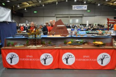Scale ModelWorld 2016 Farnborough stand Photo by Andrew Prentis