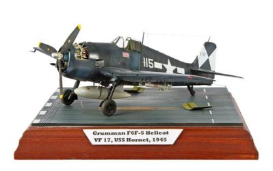 Class 88 Gold, Junior National Champion - F6F-5 Hellcat by Pavlina Samalova