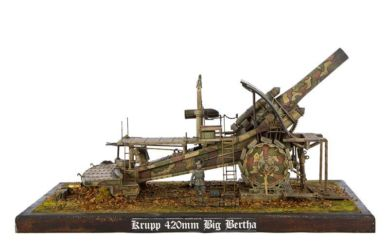 Class 87 Gold - Krupp 420 mm Big Bertha by Daryl Gamble