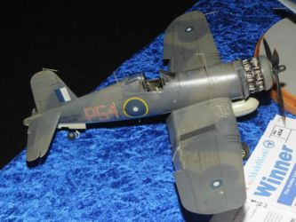 Hobby Link Japan Trophy - F4U-1A Corsair by Fluvio Benotti Photo Ashley Keates