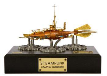 Class 72 Gold - Steampunk Coastal Submarine by Maurizio Barbalucca
