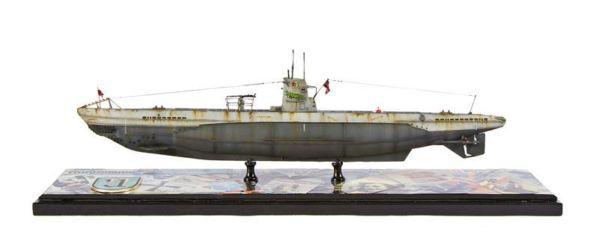 Class 67 Gold - U Boat Type IIb by Mark Housley