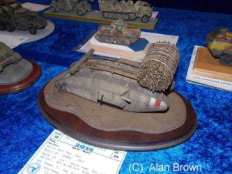WW1 tank - Photo Alan Brown