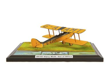 Class 27 Gold - DH-60 Gipsy Moth – Out of Africa by Peter Hrib