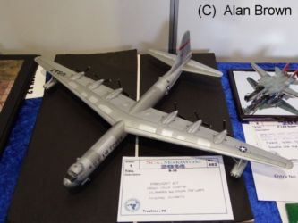 Aircraft  competition entry - B-36 - Photo Alan Brown