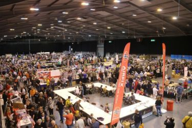 Airfix stand and Hall 1