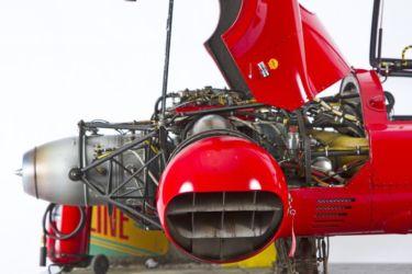 SMW 2016 SENIOR BEST OF SHOW - Ferrari 330 P4-2/TB (turbine engine) V/Stol - Daytona 1967 by Stefano Marchetti