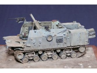 Class 42 Gold, Inside the Armour Scatchbuilt -  & Albion Alloys AFV Trophy - IDF Makmat 160mm mortar carrier by Andy Canning