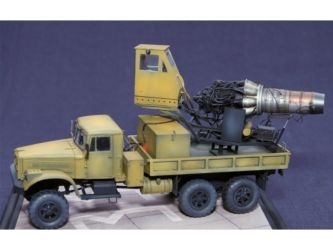 Class 49 Gold - KrAZ-255B & Klimov VK-1 Snowblower by Andreas Hadjigeorgiou