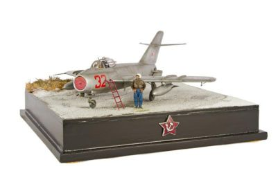 Class 96 - Branch Champions Award - MiG-17F by Jonathan Spry of Cleveland Branch