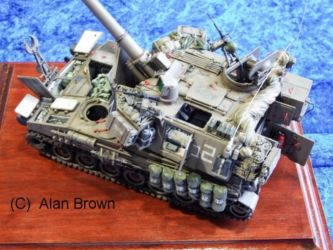 Armour  competition entry - Photo Alan Brown