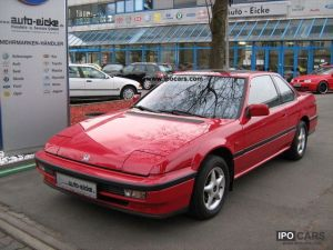 1990 Honda Prelude 20 EX Air, SD, Tüv  New paint, warranty  Car Photo and Specs
