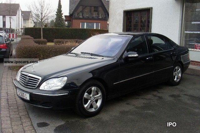 2003 Mercedes Benz S 500 L Car Photo And Specs