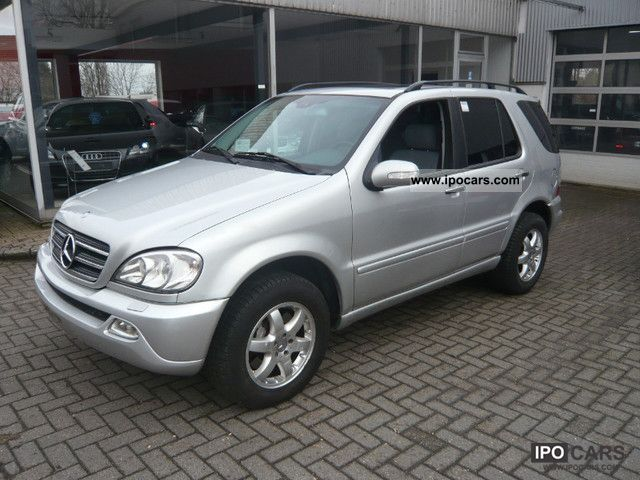2003 Mercedes Benz ML 500 7 Seater Car Photo And Specs
