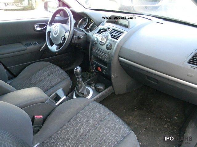 2006 Renault Megane 1 5 Dynamique Confort Dci105 Car Photo And Specs