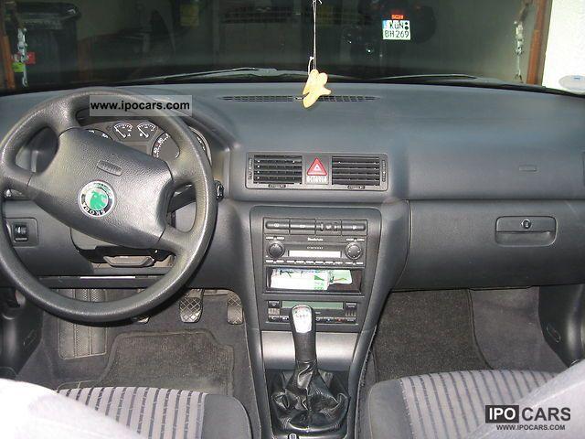 2002 Skoda Octavia Combi Elegance 1 8 T 4x4 Car Photo