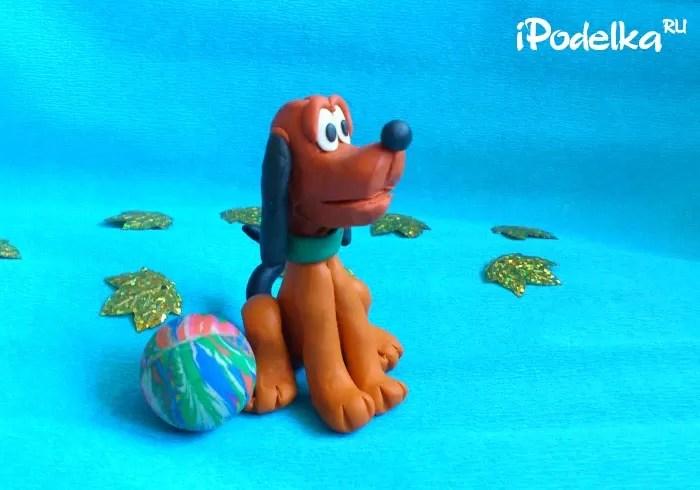 Chó plasticine tự làm