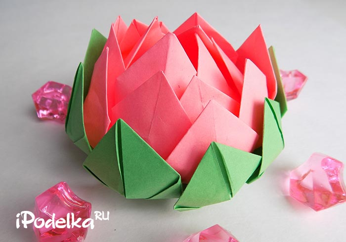 Origami Flower Stepgovoye.