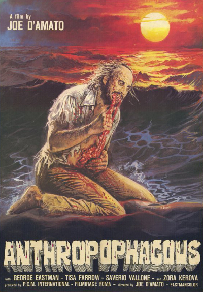 Antropophagus - Movie poster, from IMDB