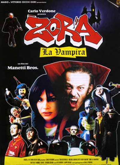 Movie poster of Zora The Vampire, from Mymovies.it