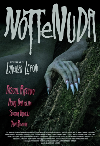 Movie poster of Lepori's Notte Nuda, from Notte-nuda.it