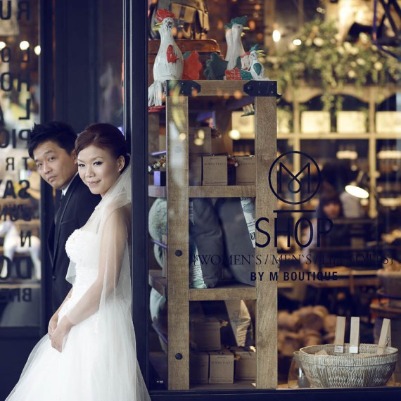 by U Wang Bridal Studio