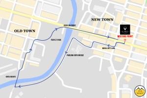 Ipoh Secrets Lantern Nightwalk Route