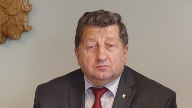 burmistrz Polic Władysław Diakun