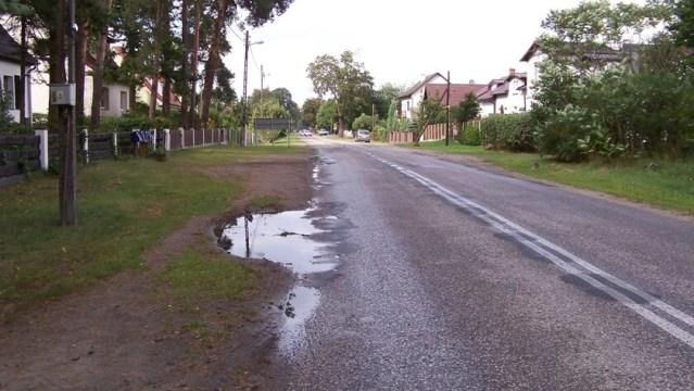 ulica Szczecińska, Tanowo, czyli droga wojewódzka nr 115