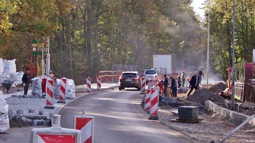końcówka remontu wiaduktu na ul. Asfaltowej w Policach