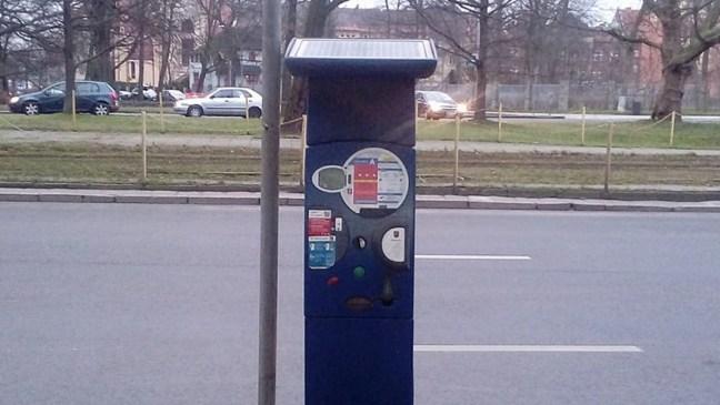 parkomat w Szczecinie