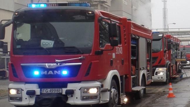 wozy strażackie w Policach