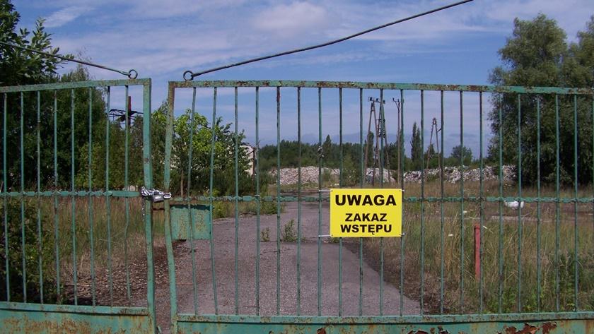 nielegalne wysypisko przy ul. Kamiennej w Policach