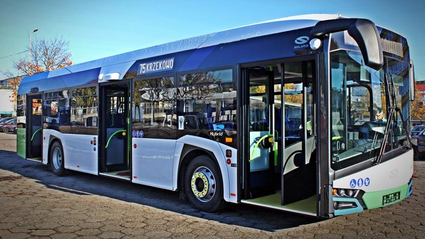 pierwszy autobus hybrydowy w Szczecinie