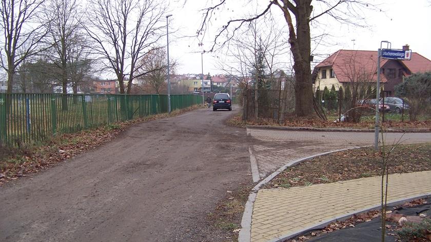 skrzyżowanie ulic Kochanowskiego i Reja