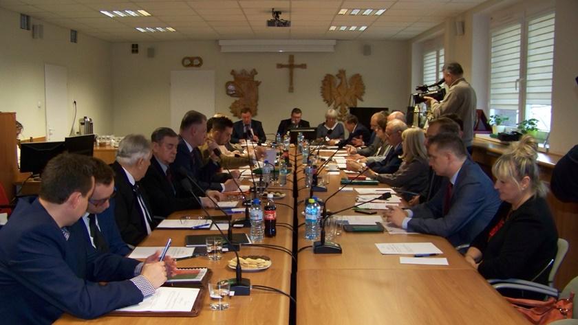 sesja polickiej rady miejskiej