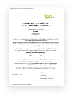 Konformitätserklärung  PMMA Gesichtsvisier (PDF)