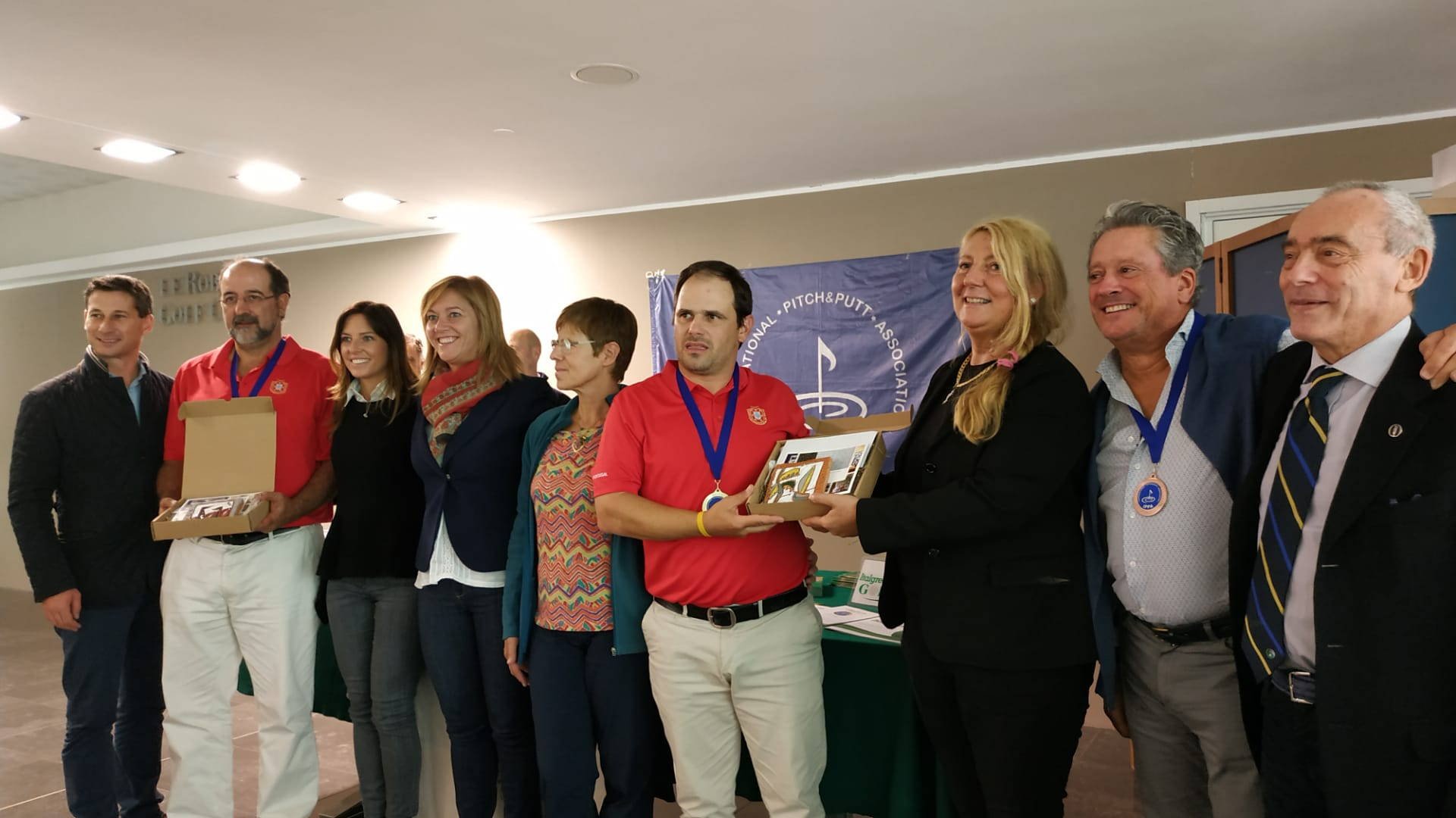 Arnaldo Paredes and Hugo Espirito Santo new 2019 European P&P Pairs Champions