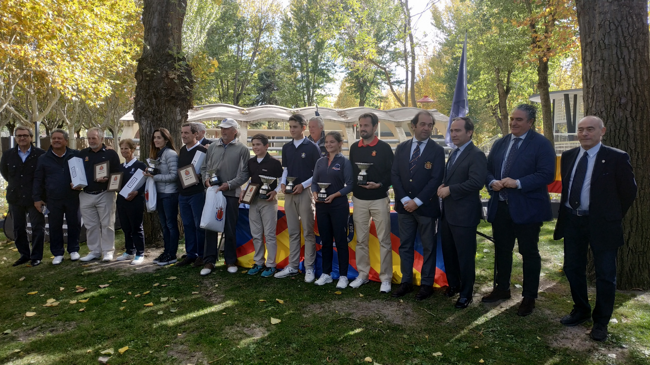 Sergio Jimenez Romero and Cristina Carlon Obregon win at Spanish Open P&P 2019
