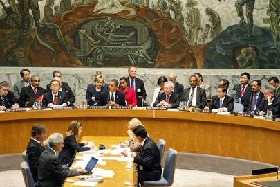 UN Security Council summit on nuclear disarmament. UN Photo/Mark Garten