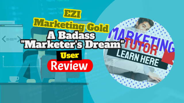Featured image for the EZI Marketing Gold Badass Bundle review.