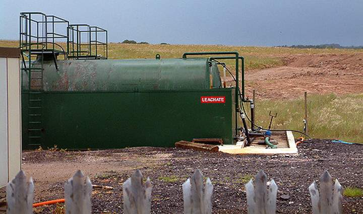 Leachate storage tank environmental compliance consultant