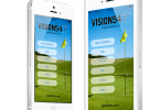 launch screens - Vision54 app Play Your Best Golf Now