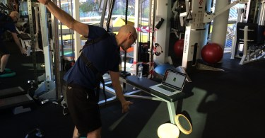 Golf Fitness Journey - at the gym with the KTrainer
