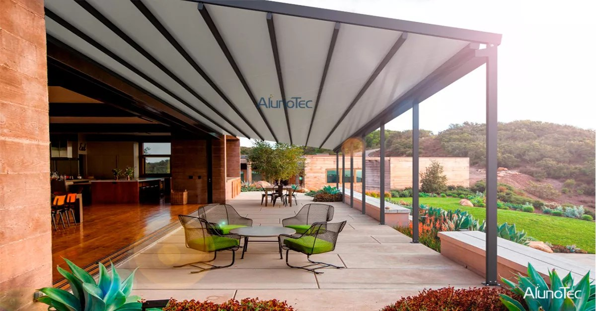 modern patio roof ideas aluminum