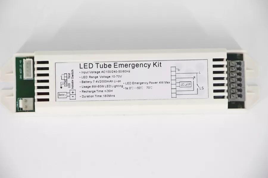 led emergency lighting module battery