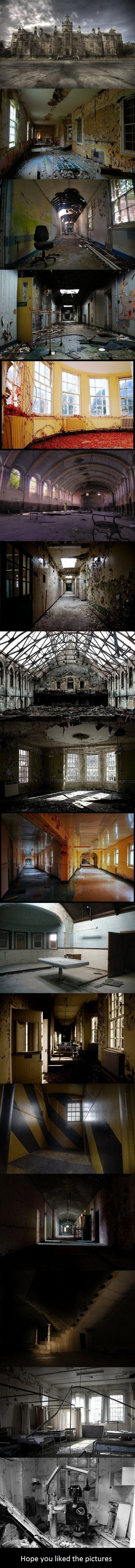 Creepy Mental Hospital Pictures